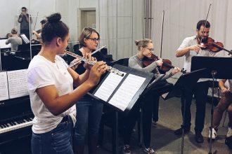 Ensemble Kammermusik Klassik Freie Musikschule Wildau MKAW Musikakademie Rheinsberg Flöte Geige
